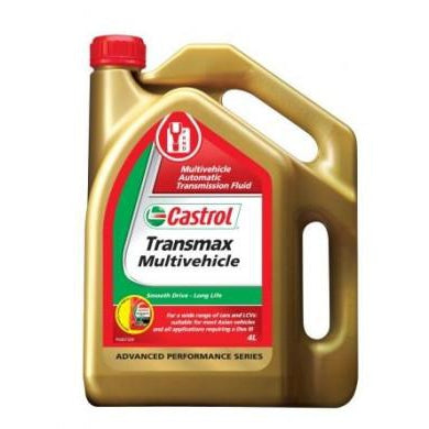 Castrol Transmax Multivehicle - 4Ltr - A1 Autoparts Niddrie  - 1