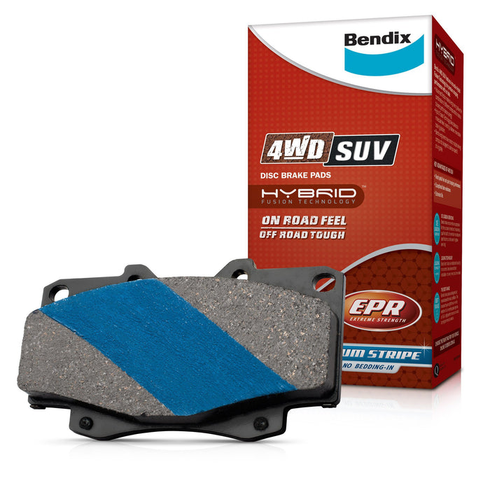 Bendix 4WD Brake Pad Set - DB1681-4WD - A1 Autoparts Niddrie