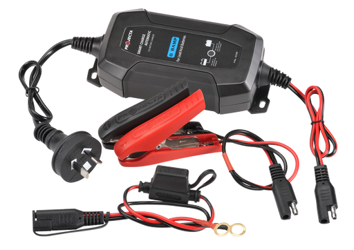 Projecta 12V Automatic 0.8 Amp 4 Stage Battery Charger - AC008