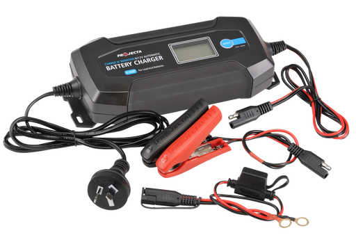 Projecta 12V Automatic 4 Amp 8 Stage Battery Charger - AC040