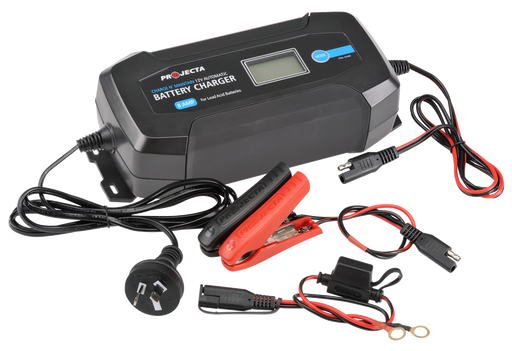 Projecta 12V Automatic 8 Amp 8 Stage Battery Charger - AC080