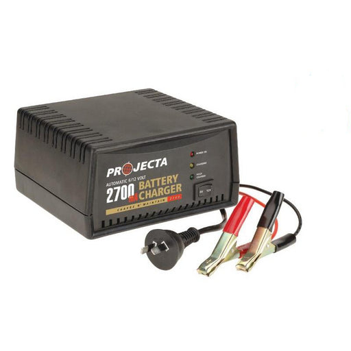 Projecta Automatic 6/12V 2700mA 2 Stage Battery Charger - AC400 - A1 Autoparts Niddrie