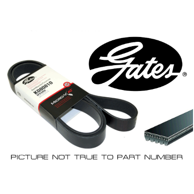 Gates Multi-Ribbed Belt / Fan Belt - 6PK2500 - A1 Autoparts Niddrie