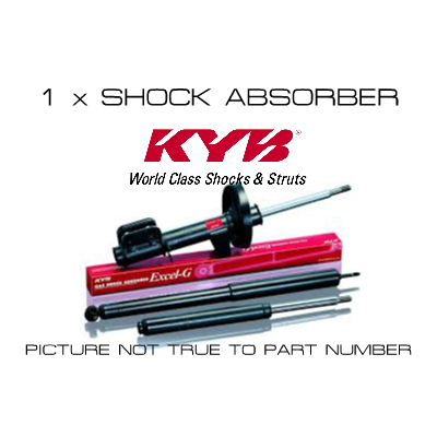 KYB Shock Absorber - 343007 - A1 Autoparts Niddrie