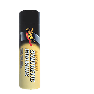 Meguiar's Soft Buff Synthetic Chamois - Small - A1 Autoparts Niddrie