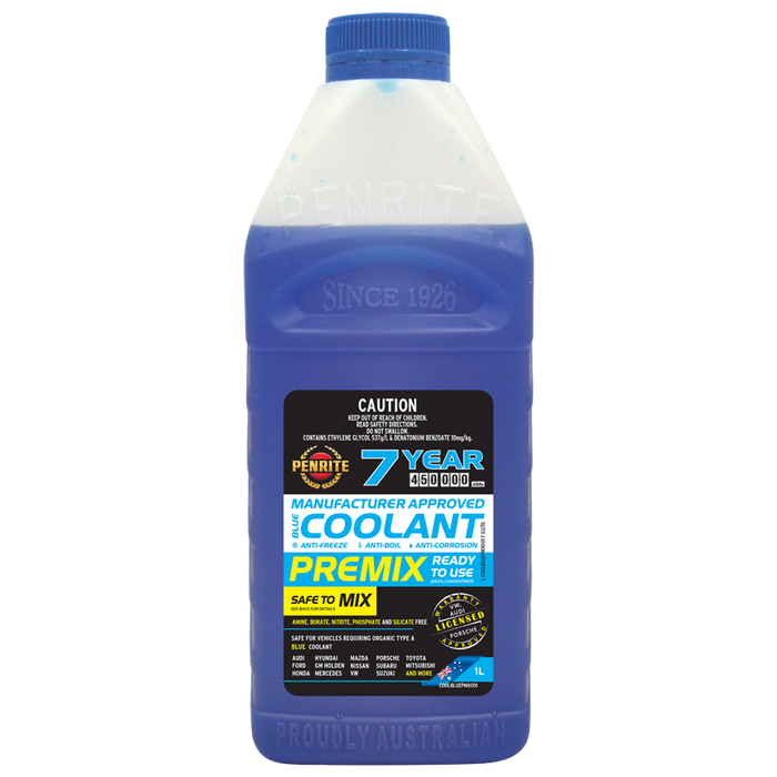 Penrite Top Up Blue Coolant - 1Ltr - A1 Autoparts Niddrie