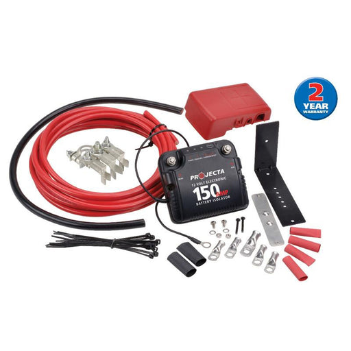 Projecta 12V 150 Amp Electronic Isolator Kit - DBC150K - A1 Autoparts Niddrie
