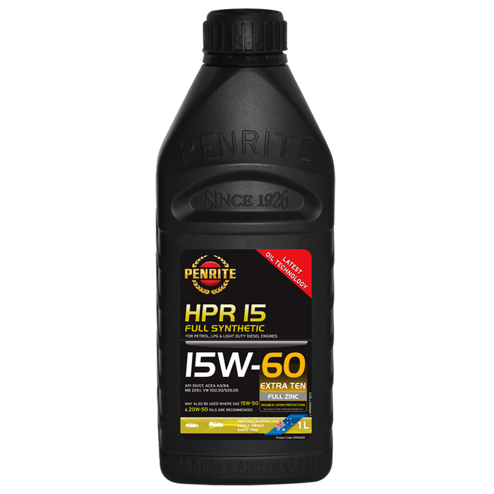 Penrite HPR15 15W60 - 1Ltr - A1 Autoparts Niddrie