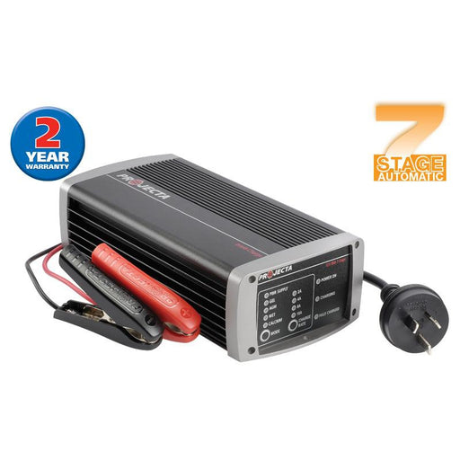 Projecta Automatic 12V 15A 7 Stage Battery Charger - IC1500 - A1 Autoparts Niddrie  - 1