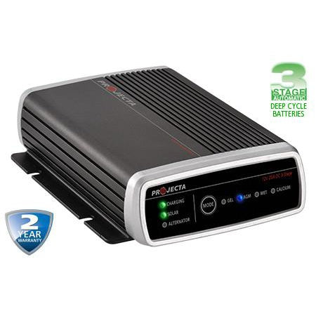 Projecta Automatic 9-32V 25A 3 Stage DC/Solar Battery Charger - IDC25 - A1 Autoparts Niddrie  - 1