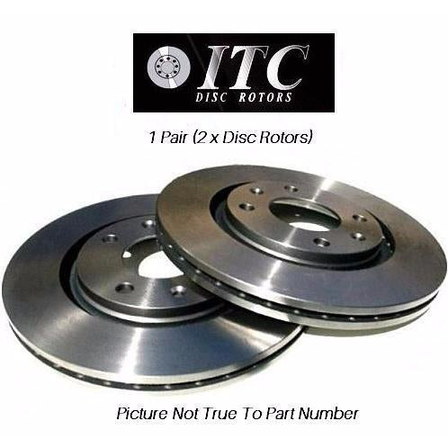 ITC Brake Disc Rotor - A1 Autoparts Niddrie