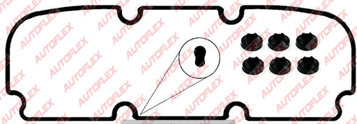 Rocker / Valve Cover Gasket Set - Holden V6 3.8L (Thin)