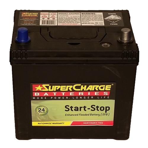 Supercharge Stop Start Battery - MFD23EF Enhanced Flooded Battery (EFB)