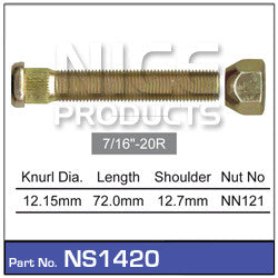 Nice Products Wheel Stud & Nut - NS1420 - A1 Autoparts Niddrie  - 1