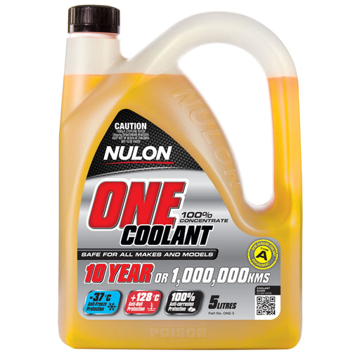 Nulon One Coolant Concentrated - 5Ltr - A1 Autoparts Niddrie
