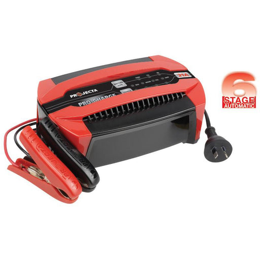 Projecta Pro-Charge Automatic 12V 21A 6 Stage Battery Charger - PC2100 - A1 Autoparts Niddrie  - 1