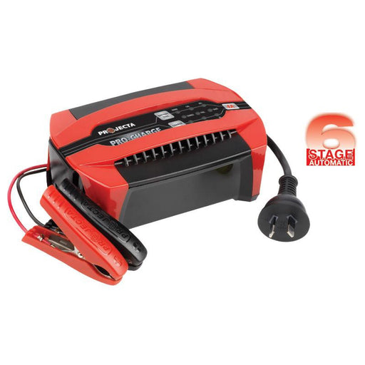 Projecta Pro-Charge Automatic 12V 4A 6 Stage Battery Charger - PC400 - A1 Autoparts Niddrie  - 1