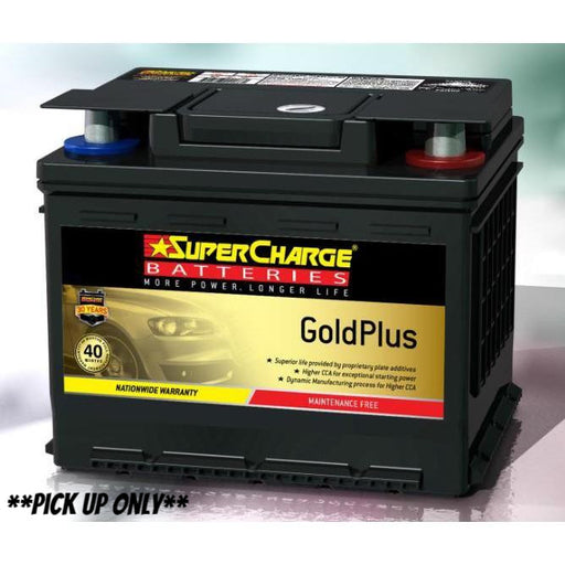 Supercharge Gold Plus Battery - MF44 - A1 Autoparts Niddrie  - 1