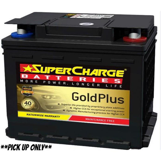 Supercharge Gold Plus Battery - MF55 - A1 Autoparts Niddrie  - 1