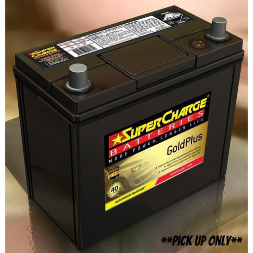 Supercharge Gold Plus Battery - MF55B24RS - A1 Autoparts Niddrie  - 1