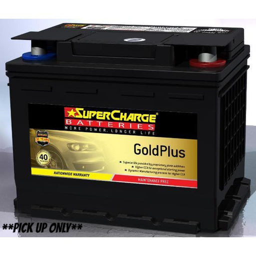 Supercharge Gold Plus Battery - MF55H - A1 Autoparts Niddrie  - 1