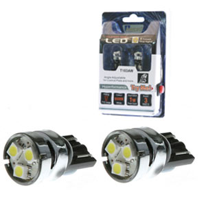 Aerpro 3 X SMD LED T10 Globe (Pair) - White - T103AW - A1 Autoparts Niddrie