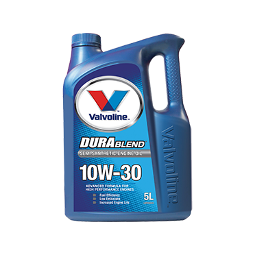 Valvoline Durablend 10W30 - 5Ltr - A1 Autoparts Niddrie