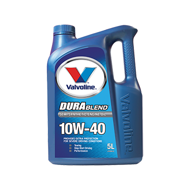 Valvoline Durablend 10W40 - 5Ltr - A1 Autoparts Niddrie