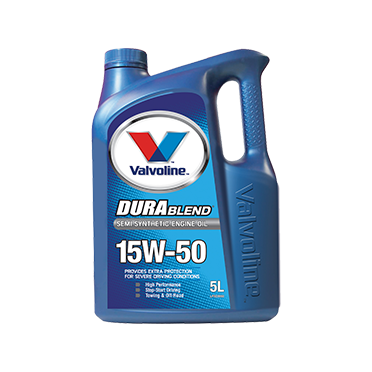 Valvoline Durablend 15W50 - 5Ltr - A1 Autoparts Niddrie