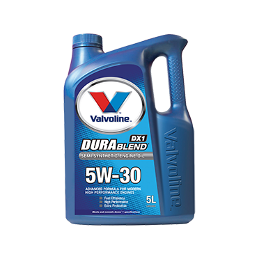 Valvoline Durablend 5W30 - 5Ltr - A1 Autoparts Niddrie