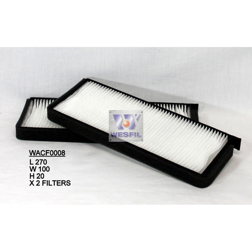 Wesfil Cabin/Pollen Air Filter - WACF0008 - RCA314C - A1 Autoparts Niddrie  - 1