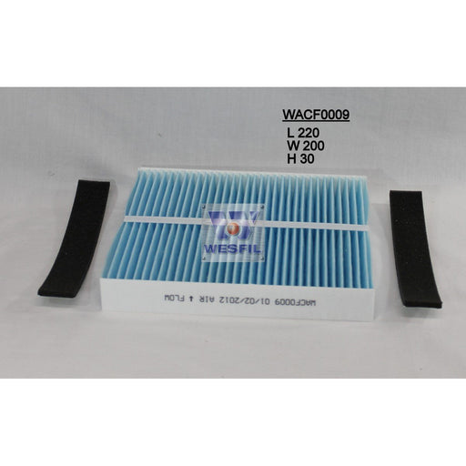 Wesfil Cabin/Pollen Air Filter - WACF0009 - RCA113P - A1 Autoparts Niddrie  - 1