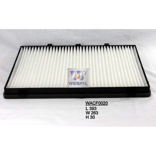 Wesfil Cabin/Pollen Air Filter - WACF0020 - A1 Autoparts Niddrie  - 1