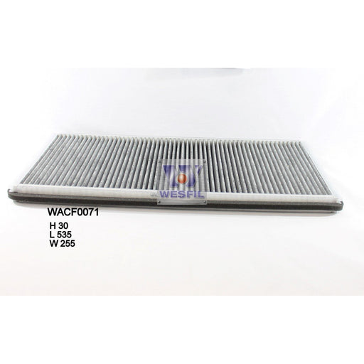 Wesfil Cabin/Pollen Air Filter - WACF0071 - RCA135C - A1 Autoparts Niddrie  - 1
