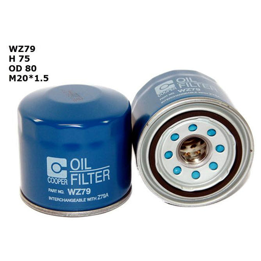 Wesfil Oil Filter - WZ79 (Z79A)