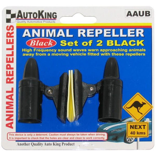 Animal Repeller - Black - A1 Autoparts Niddrie
