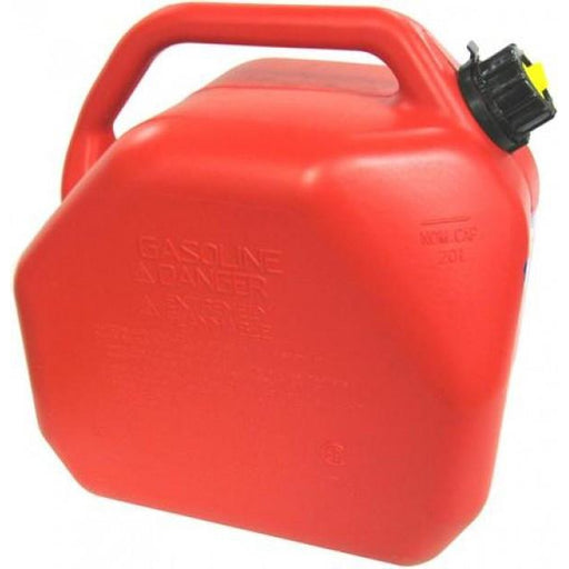 Squat Type Petrol Jerry Can - 20 Litre - A1 Autoparts Niddrie