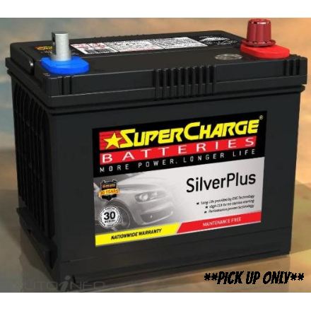 Supercharge Silver Plus Battery - SMF58EB-SMF58EB-Supercharge-A1 Autoparts Niddrie