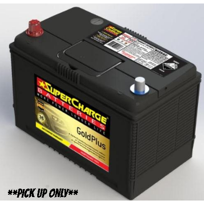 Supercharge Gold Plus Battery - MF95D31R-MF95D31R-Supercharge-A1 Autoparts Niddrie