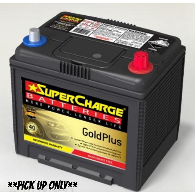 Supercharge Gold Plus Battery - MF75D23L-MF75D23L-Supercharge-A1 Autoparts Niddrie