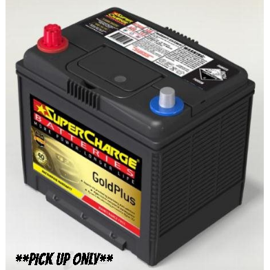 Supercharge Gold Plus Battery - MF75D23R-MF75D23R-Supercharge-A1 Autoparts Niddrie