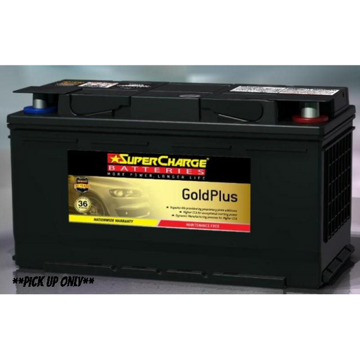 Supercharge Gold Plus Battery - MF88H-MF88H-Supercharge-A1 Autoparts Niddrie