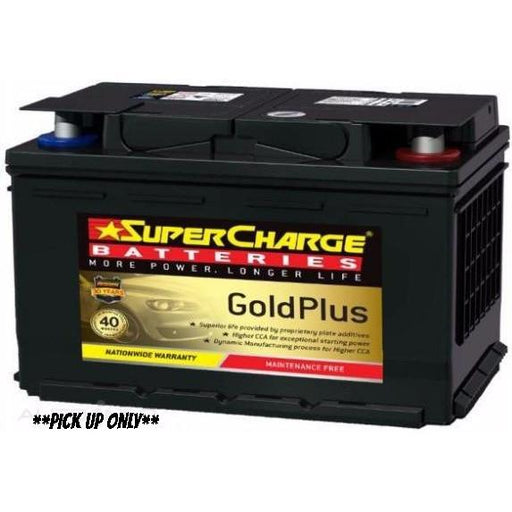 Supercharge Gold Plus Battery - MF66-MF66-Supercharge-A1 Autoparts Niddrie