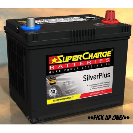 Supercharge Silver Plus Battery - SMF58VT-SMF58VT-Supercharge-A1 Autoparts Niddrie
