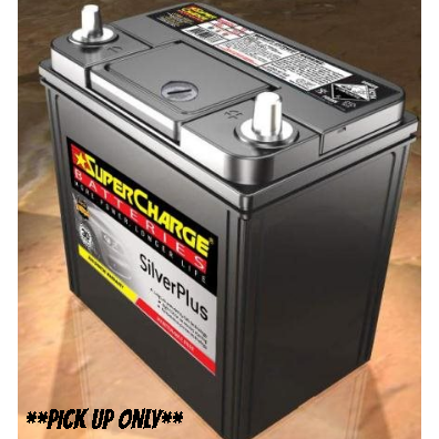 Supercharge Silver Plus Battery - SMFNS40ZLX-SMFNS40ZLX-Supercharge-A1 Autoparts Niddrie