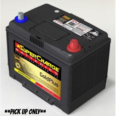 Supercharge Gold Plus Battery - MF80D26L-MF80D26L-Supercharge-A1 Autoparts Niddrie