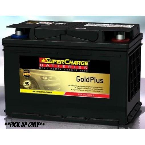 Supercharge Gold Plus Battery - MF66H-MF66H-Supercharge-A1 Autoparts Niddrie