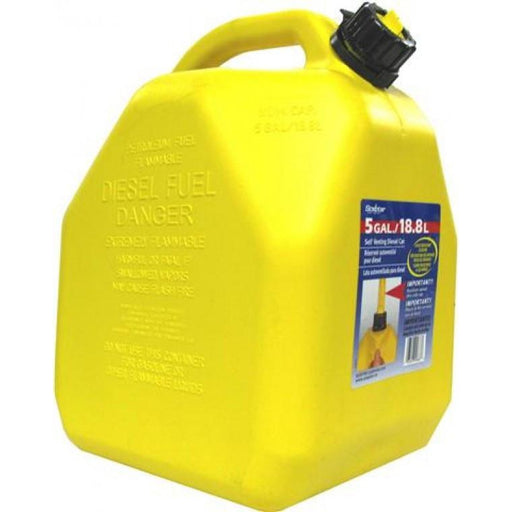 Squat Type Diesel Jerry Can - 18.8 Litre - A1 Autoparts Niddrie