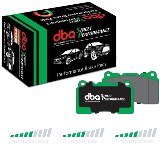 DBA Street Perfomance Disc Brake Pad Set - DB2358ASP