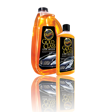 Meguiar's Gold Class Car Wash Shampoo & Conditioner - 1.9Ltr - A1 Autoparts Niddrie